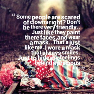 Quotes About: clown