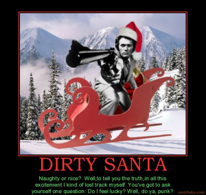 dirty-santa-dirty-harry-santa-claus-sleigh-christmas-xmas-do ...