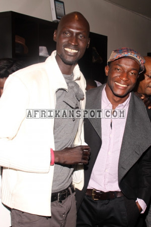 Ger Duany with Christian Koumtog