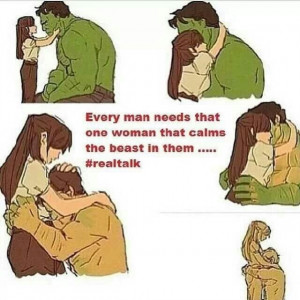 Every man needs that one woman that calms the beast in them: Hopeless ...