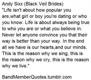 Andy Sixx (Black Veil Brides)