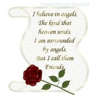 Believe In Angels, The Kind That Heaven Sends