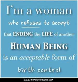 Pro Life Quotes And Sayings. QuotesGram