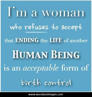 FAMOUS ABORTION QUOTES PRO LIFE buzzquotes.com