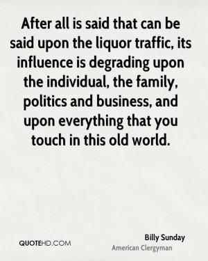Billy Sunday Politics Quotes