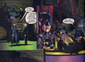 Panels from Batman Forever: The Official Comic Adaptation of the ...