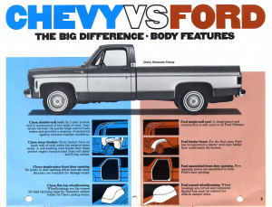 Funny Ford Vs Chevy Jokes