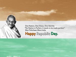 Mahatma Gandhi Quotes for Republic day of India