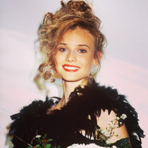 Diane Kruger, Teenage Beauty Queen, Thinks This Was Her Awkward Phase