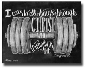... Chalk Typography Hand Drawn Chalkboard Sign Bible Verse Art Scripture