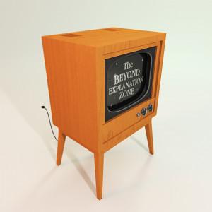 TV Old Television Set