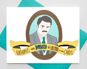 Parks And Recreation Birthday Cards