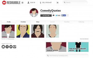 Comedy Quotes on Redbubble.com