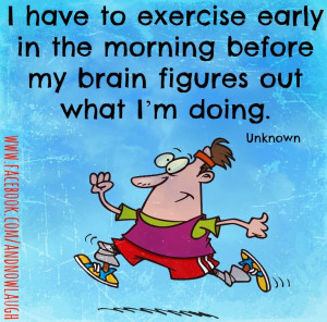 Funny Exercise Quotes