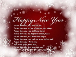 Famous Happy New Year Poems For Boyfriend 2015