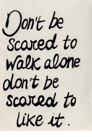 or a leader. I'm a lone wolf and I like it that wayLife Quotes ...