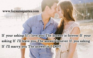 Picture quotes if i will marry you