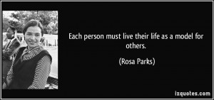 More Rosa Parks Quotes