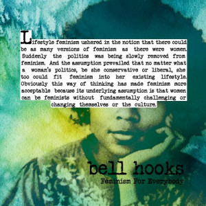 bell hooks knows #feminism