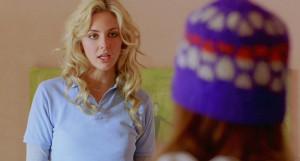 Tamsin Egerton as Georgie in Chalet Girl (2011)