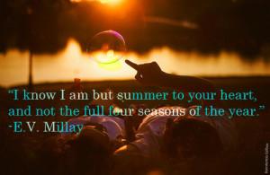 summer, quotes, sayings, inspiring, seasons, famous | Inspirational ...