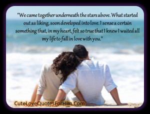 Love Quotes For Him #14