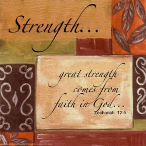 God, Give me strength