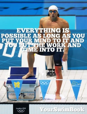Quotes by Michael Phelps Swimming