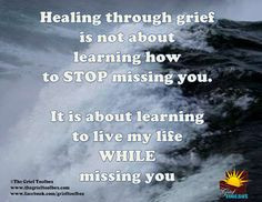 What is it to heal in grief | The Grief Toolbox More