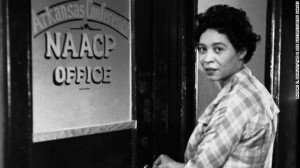 Civil rights leader and NAACP official Daisy Bates was a central ...