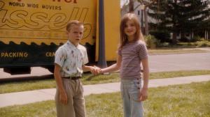 Young Bryce (Ryan Ketzner) and Young Juli (Morgan Lily)