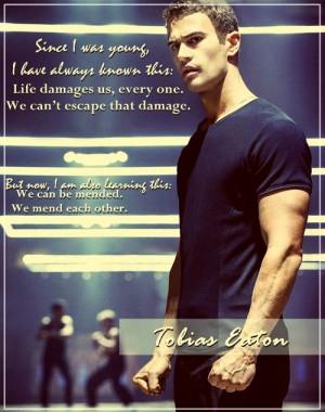 ... END OF BOOK BEWARE*****. Allegiant - Tobias Johnson quote