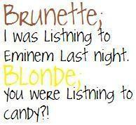 blonde quotes and sayings