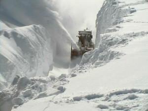 Record snowfall in Oswego, NY