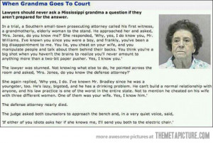 Funny photos funny grandma court judge