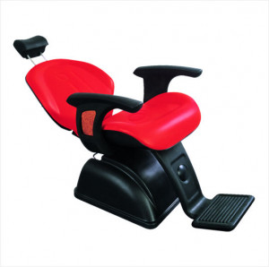Rojo estilo salón de sillas peluquería/barbería para la tienda de ...