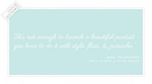 Launch a beautiful product quote