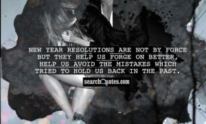 New Year Resolutions Quotes...