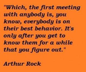 Arthur rock famous quotes 3