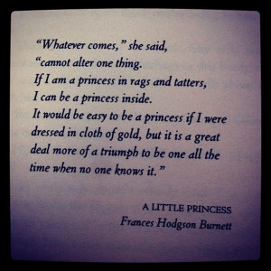 Little Princess Quotes A little princess.