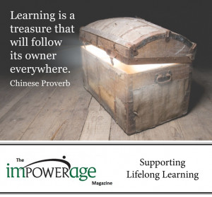 Impowerage- Magazine-Learning-is-a-Treasure-Quote