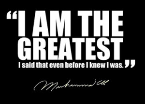AMAZING QUOTE (MUHAMMAD ALI)