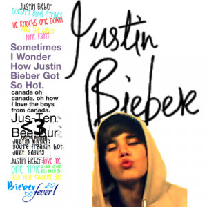 jUSTIN BIEBER QUOTES - Polyvore