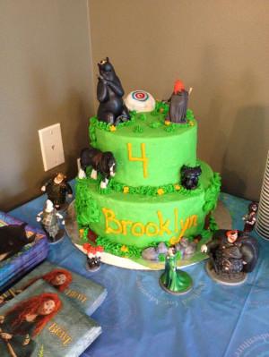 Disney Brave Cake Birthday Cakes