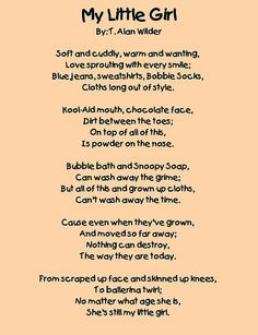 Daddy's Little Girl Poems | Little Baby Girl Poems http://www.flickr ...