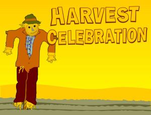 Christian Harvest Clip Art Harvest celebration scarecrow