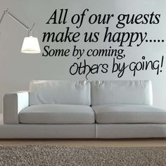 ... quote wall wall decals bedroom wall stickers quotes guest rooms art