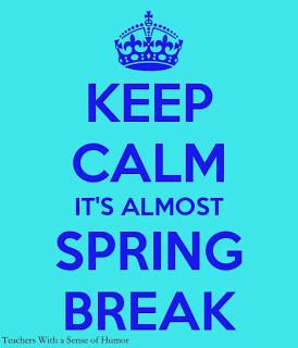 My new Podium and Spring Break!!!