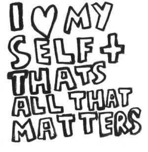 When we're continuously so hard on ourselves and strive for ...