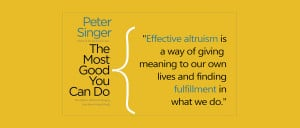 Book Review: The Most Good You Can Do by Peter Singer